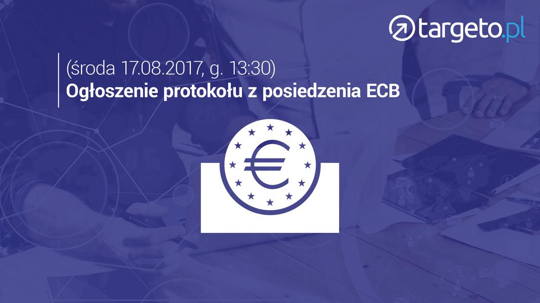19 prognoza zysków - ogłoszenie protokołu z posiedzenia ECB