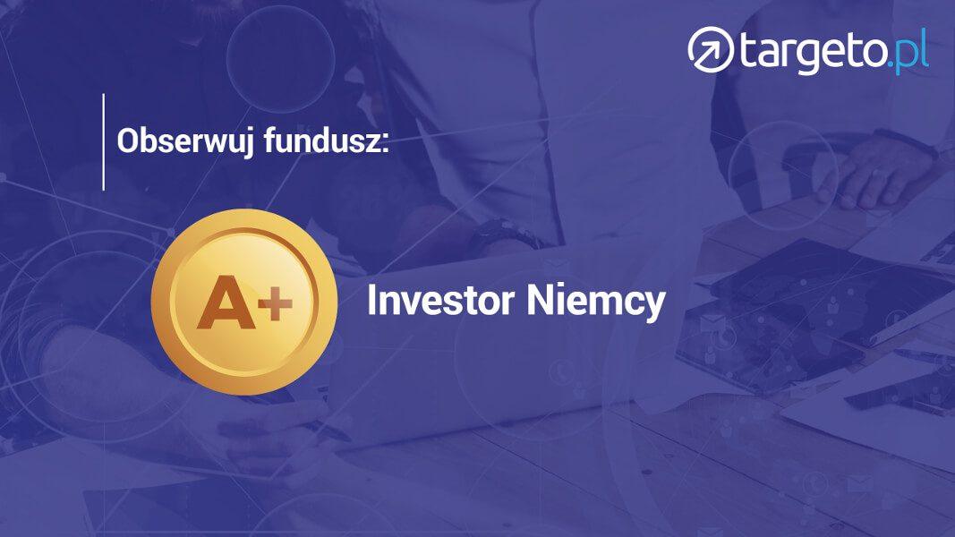 Obserwuj fundusz: Inwestor Niemcy