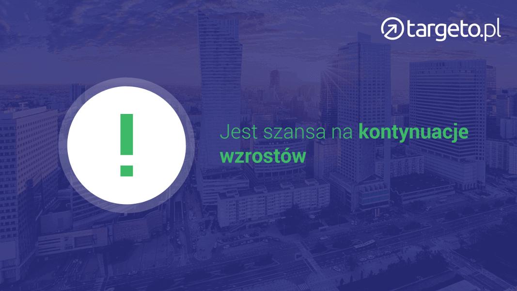 Jest szansa na kontynuacje wzrostów na polskiej giełdzie