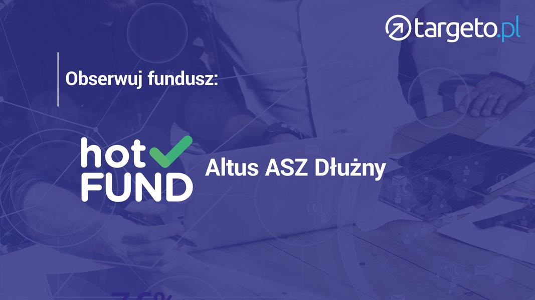 24 prognoza zysków - Obserwuj fundusz: hotFund Altus ASZ Dłużny