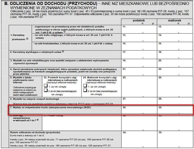 Rozliczenie IKZE w PIT - zwrot podatku 1 (1)