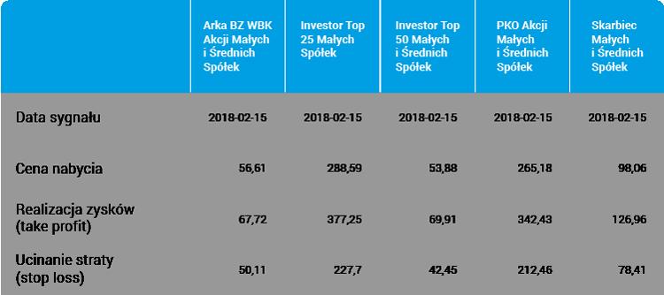 Okazje inwestycyjne hot FUND akcje polskie z sektora małych i średnich spółek