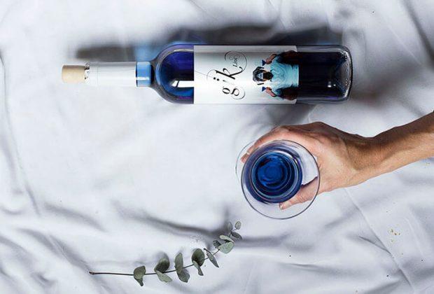 Niebieskie wino GIK