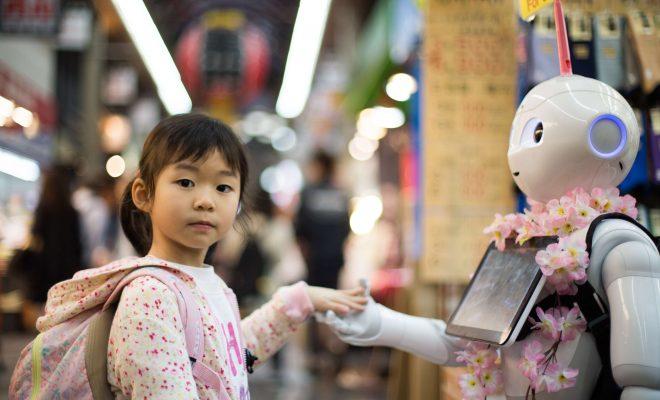 Chińskie roboty w obsłudze klienta: do 2020 roku roboty wyprą ludzi z handlu detalicznego?